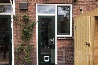 Groene achterdeur Amstelveen
